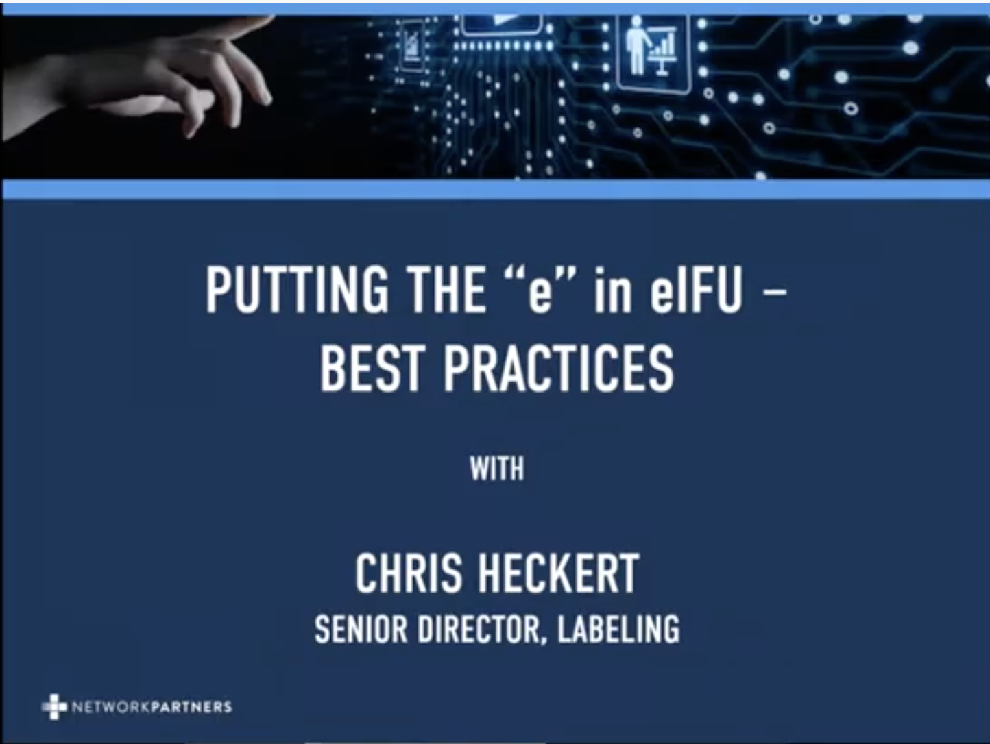 Putting the e in eIFUs - Best Practices thumbnail
